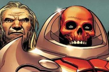 A line-up of super villains.